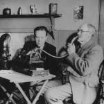 Calum Maclean recording Angus MacMillan 1947