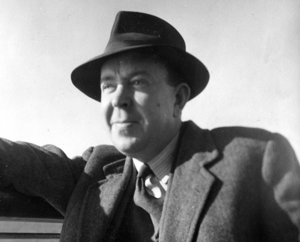 Calum Maclean in the early 1950s