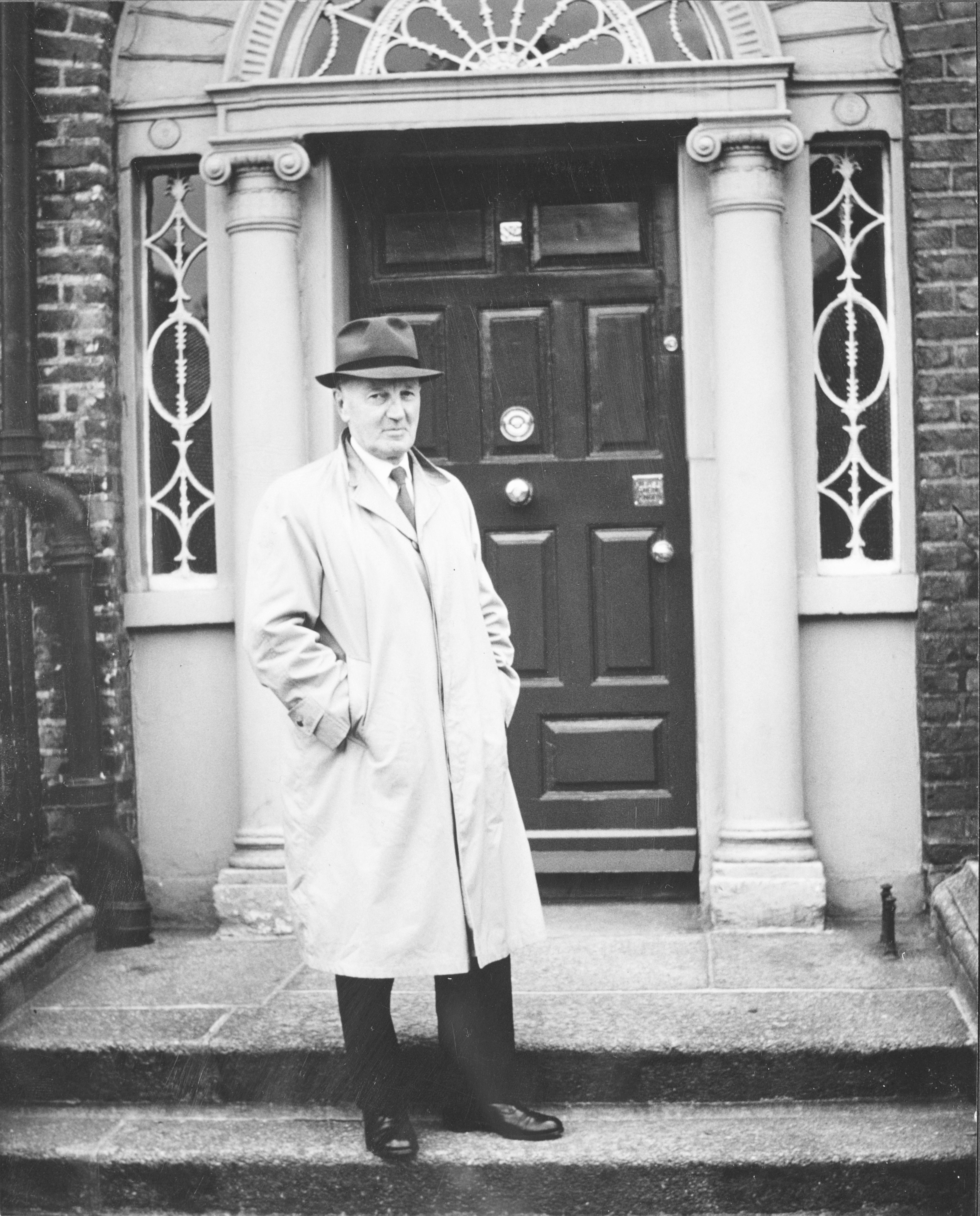 Séamus Ó Duilearga, Dublin c1965