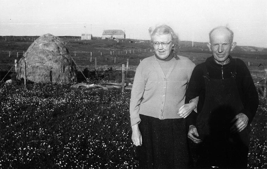Patrick and Kate MacCormick, Benbecula 1959
