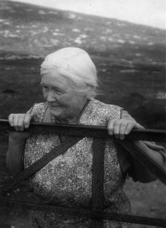 Mrs Archie MacDonald, South Uist 1958