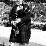 Pipe Major William MacLean
